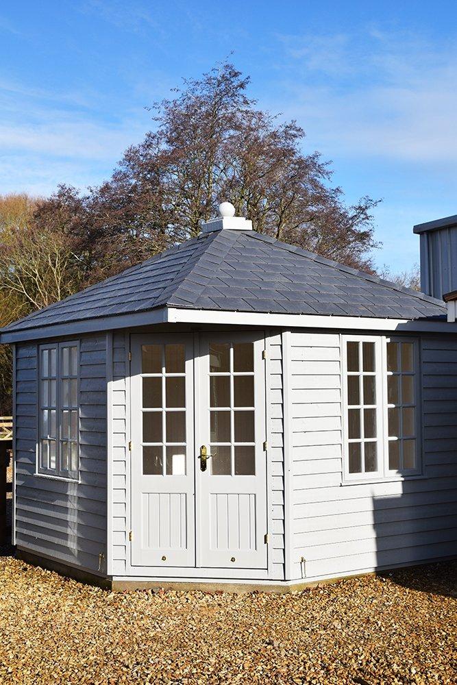 3.0 x 3.0m Weybourne Summerhouse at Narford