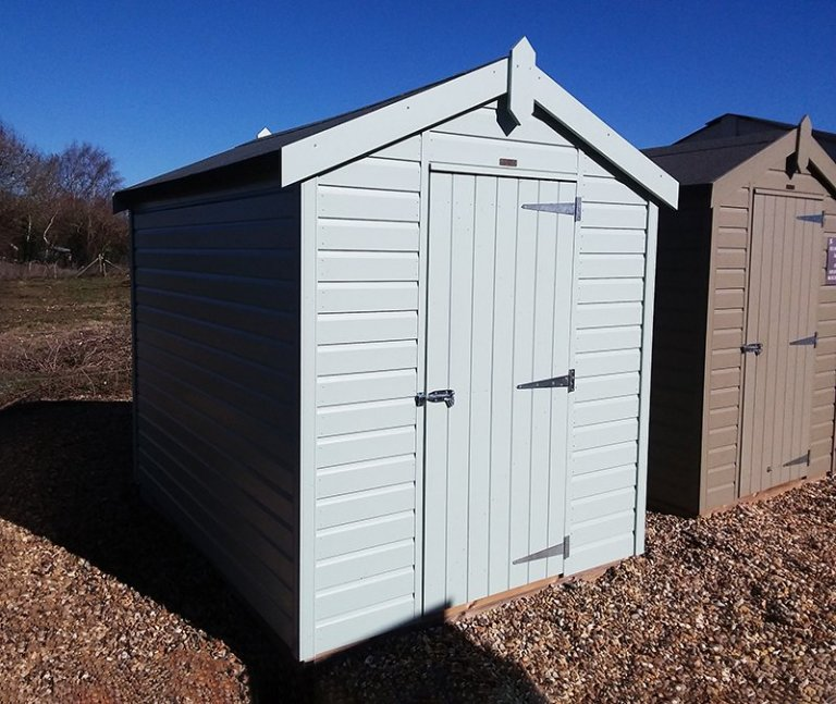 Brighton's 1.8 x 2.4m Classic Shed in Seagrass