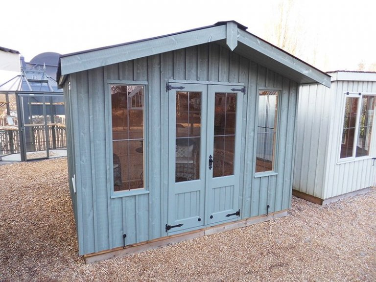 3.0 x 2.4m Ickworth National Trust Summerhouse at Burford in Terrace Green