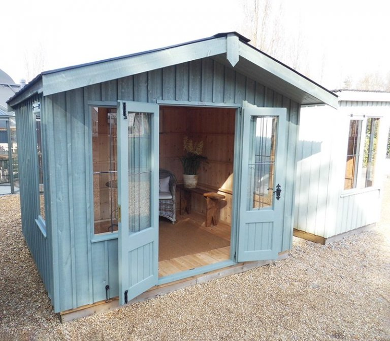 3.0 x 2.4m Ickworth National Trust Summerhouse in Terrace Green at Burford
