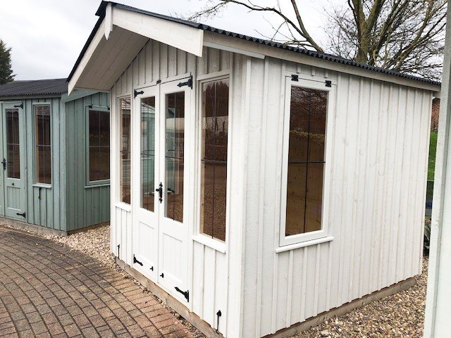 2.4 x 2.4m Ickworth National Trust Summerhouse with Apex Roof