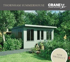 Thornham Summerhouse Flyer Brochure Cover