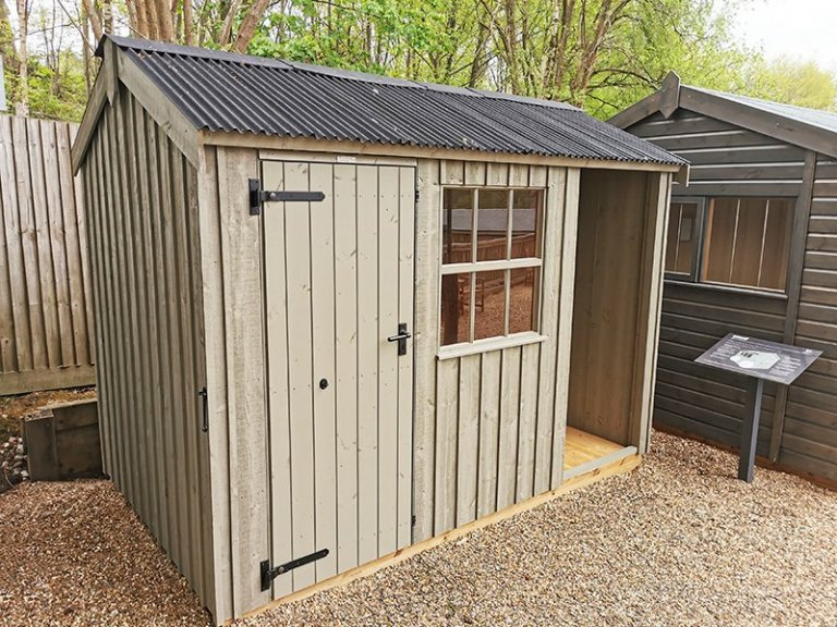 1.8 x 3.0m Blickling National Trust Shed at Tunbridge Wells in Wades Lantern