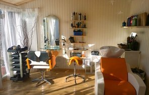 Burnham Studio Turned Hair Salon complete with wash basins