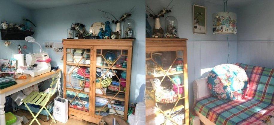 Flatford National Trust Summerhouse Turned Sewing Room customer story