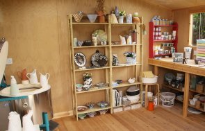 Superior Shed Turned Pottery Shed customer story