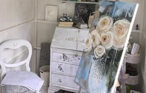 Glamorous She Shed Interior Customer Stories