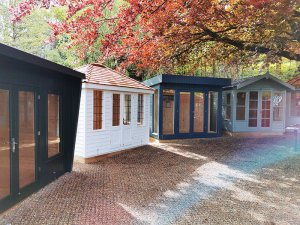 A Classic Office, Cley Summerhouse, Salthouse Studio and Blakeney Summerhouse at Tunbridge Wells