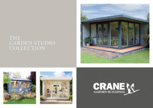 Garden Studio Brochure Cover featuring a Holt Studio, a Langham Studio and a Salthouse Studio