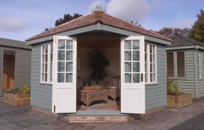 3.0 x 3.0m Weybourne Summerhouse Walkthrough