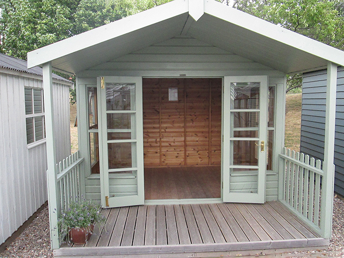 Morston Summerhouse - 3.0m x 3.6m (10ft x 12ft)