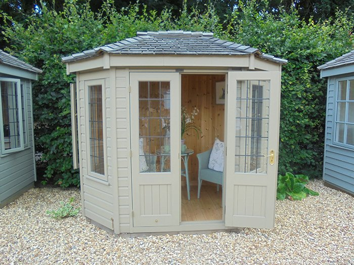 Wiveton Summerhouse - 1.8m x 2.5m (6ft x 8'6