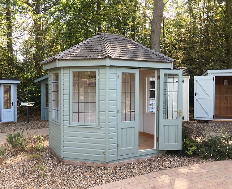 Wiveton Summerhouse - 2.4m x 3.0m (8ft x 10ft)